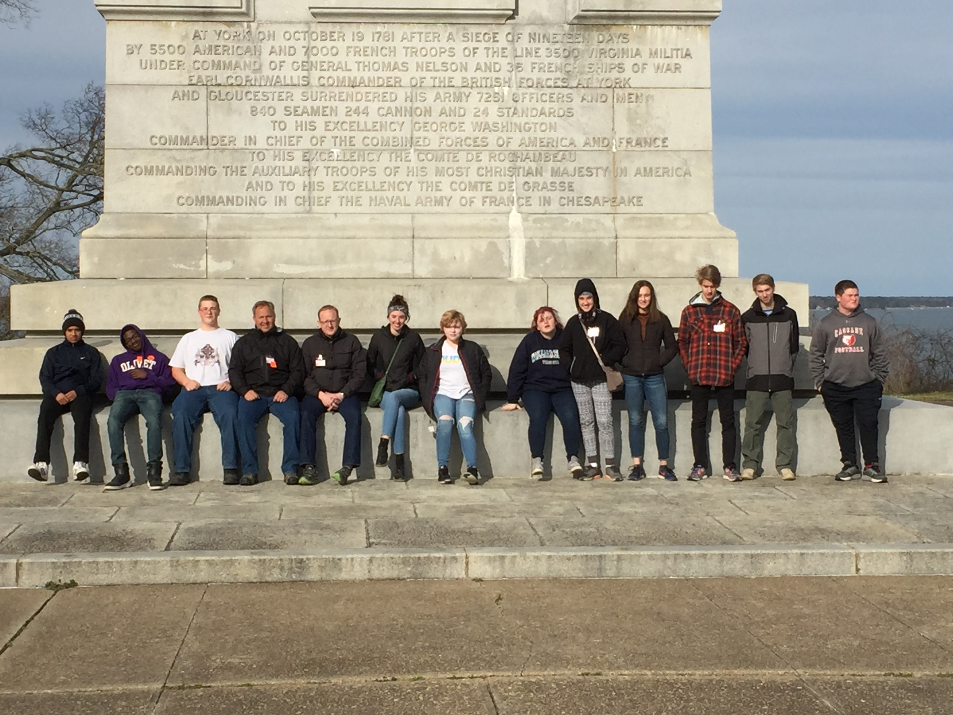 Students in Washington D.C.