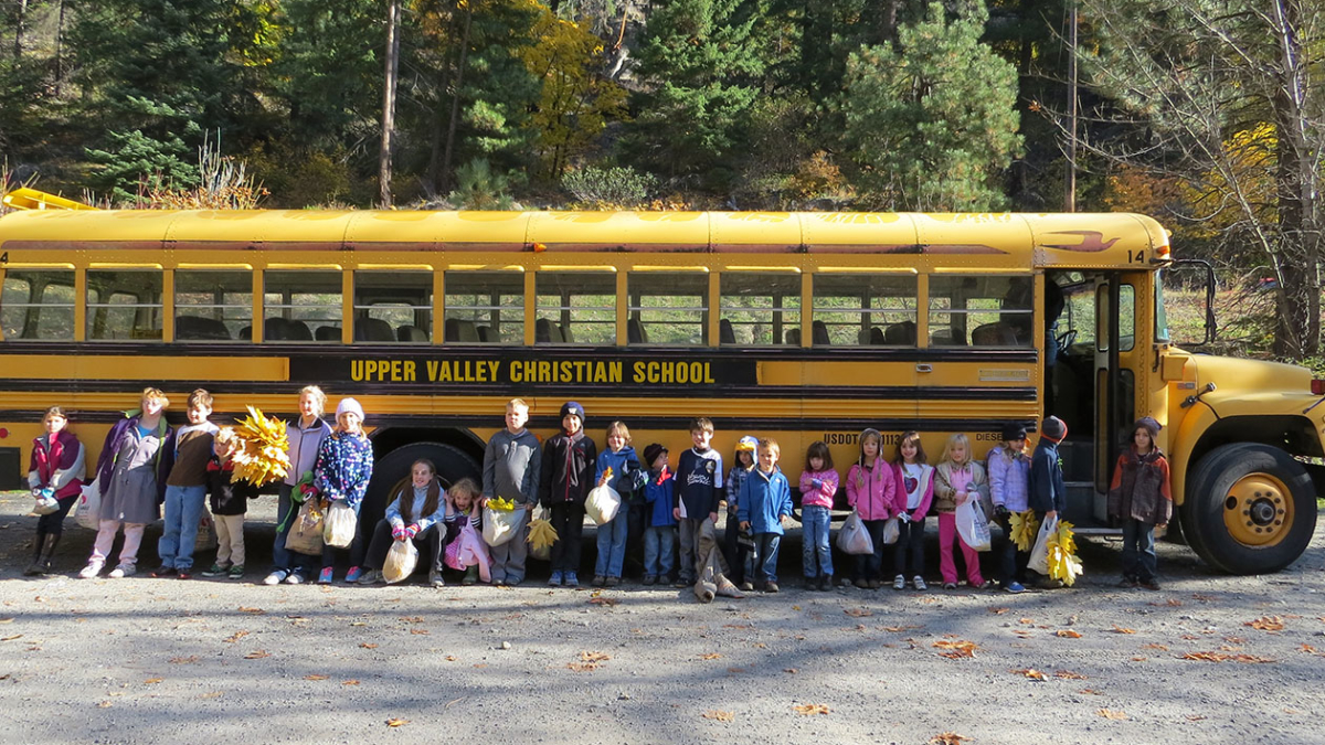 Upper Valley Christian School Leavenworth field trip