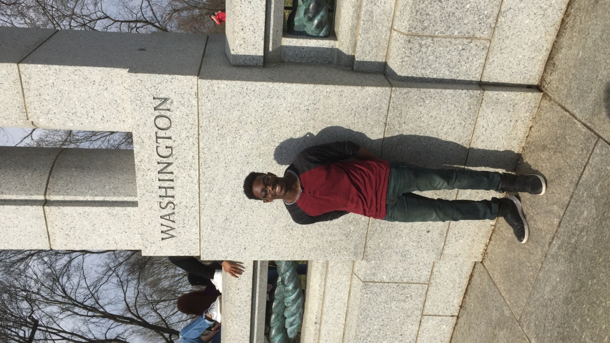 Student in Washington D.C.