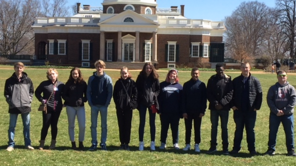 Students at Monticello
